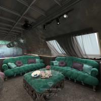Дизайн интерьера комнаты отдыха в загородном доме