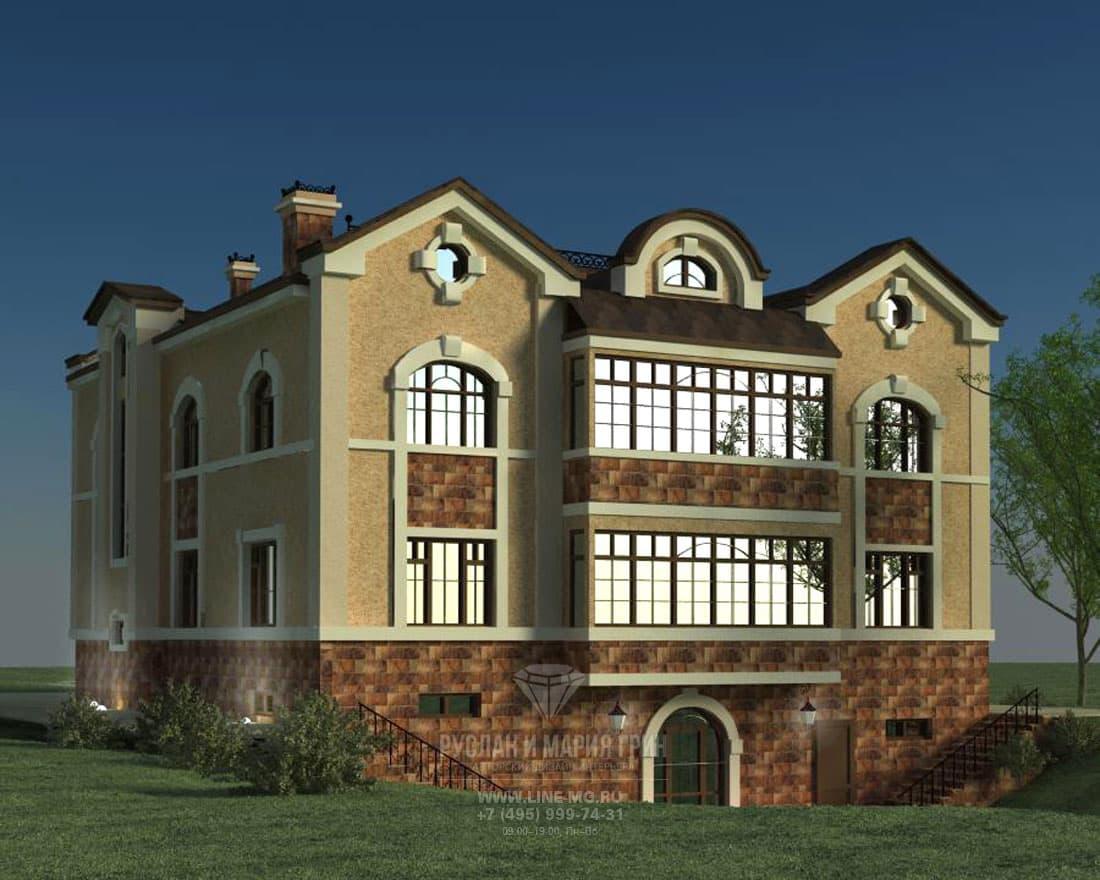 Дизайн дома снаружи. Фото