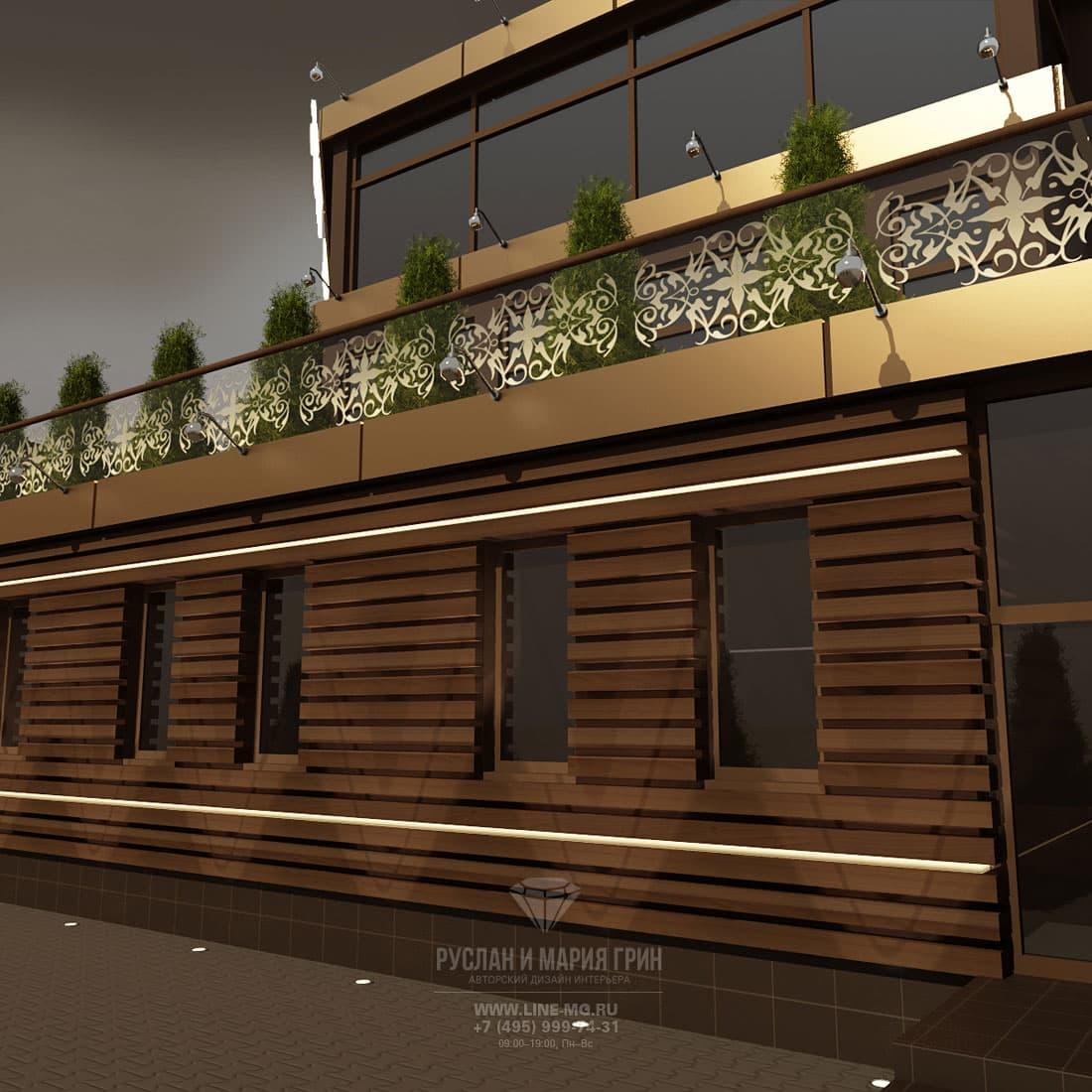 Фото дизайн кафе фасад