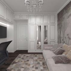 Дизайн интерьера кабинета в современном стиле