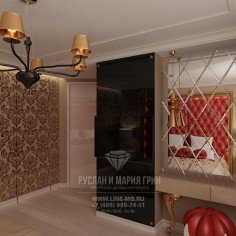Дизайн интерьера спальни встиле арт-деко