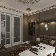Дизайн интерьера кабинета. Фото 2016