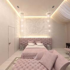 Дизайн интерьера светлой спальни