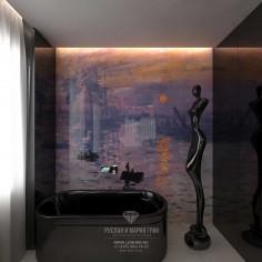 Дизайн интерьера ванной комнаты. Фото 2016