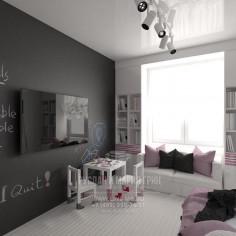 Дизайн интерьера детской комнаты в современном стиле