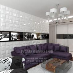 Дизайн интерьера гостиной. Фото 2016