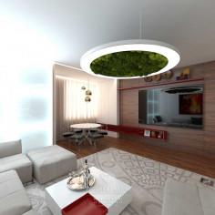 Дизайн интерьера гостиной в современном стиле