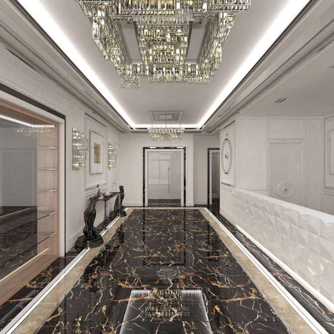 Дизайн холла в мини гостинице
