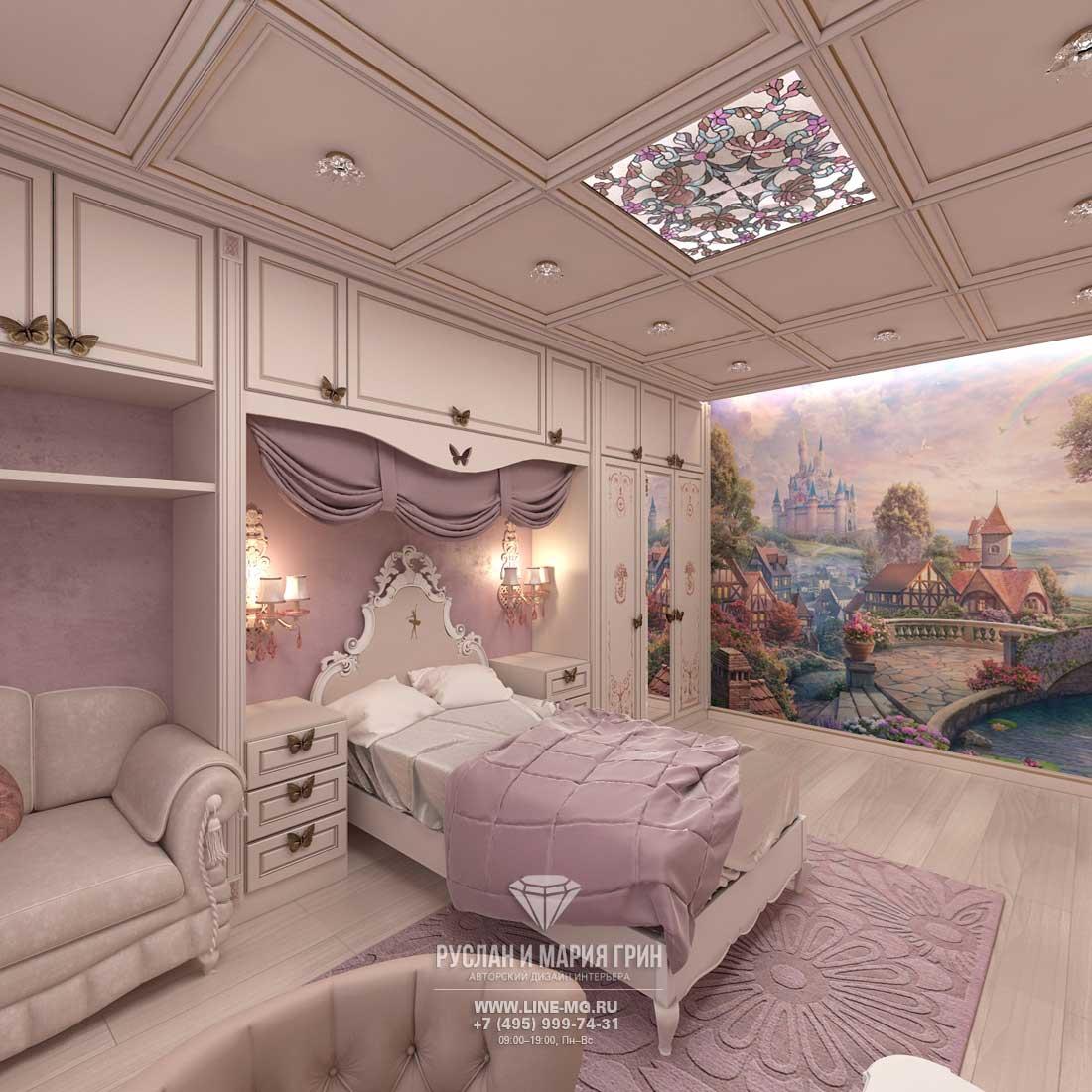 Дизайн красивой квартиры. Фото интерьера детской в классическом стиле