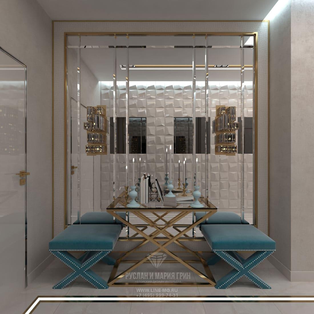 Дизайн красивой квартиры. Фото интерьера прихожей 2017