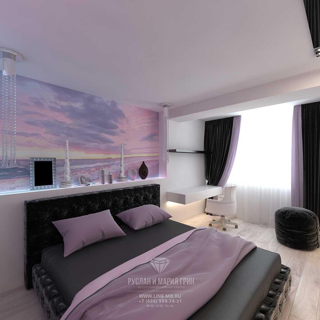 Дизайн красивой квартиры. Фото интерьера спальни 2016