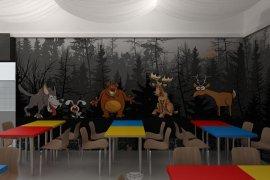 Дизайн детского центра развлечений. 14 фото