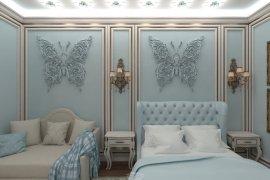 Дизайн интерьера детской комнаты для девочки-подростка