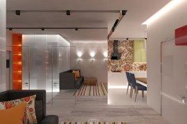 Однокомнатная квартира в современном стиле. 16 фото