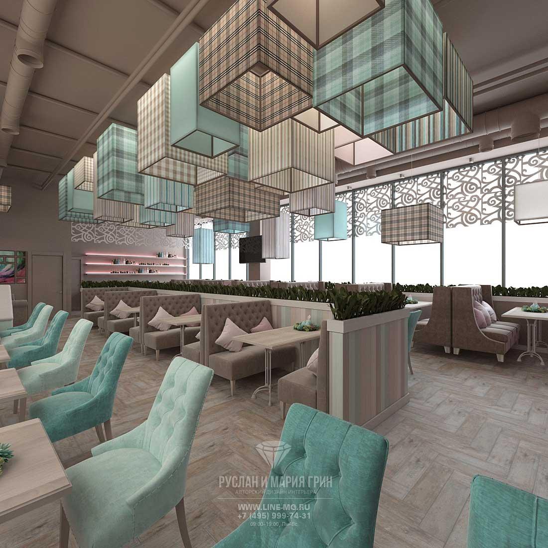 Дизайн-проект кафе в Москве