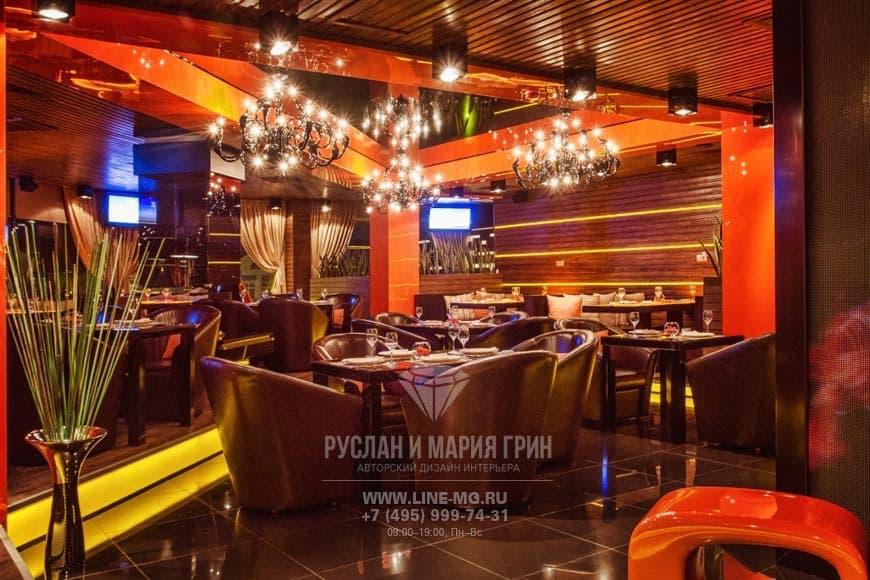 Дизайн и ремонт ресторана в Куркино