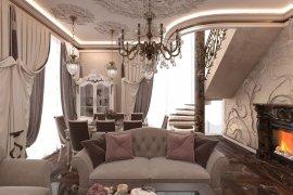 Дизайн двухуровневой квартиры в ЖК «Дом на Мосфильмовской»