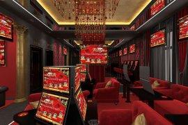 Игровой зал клуба спортивных и лотерейных ставок