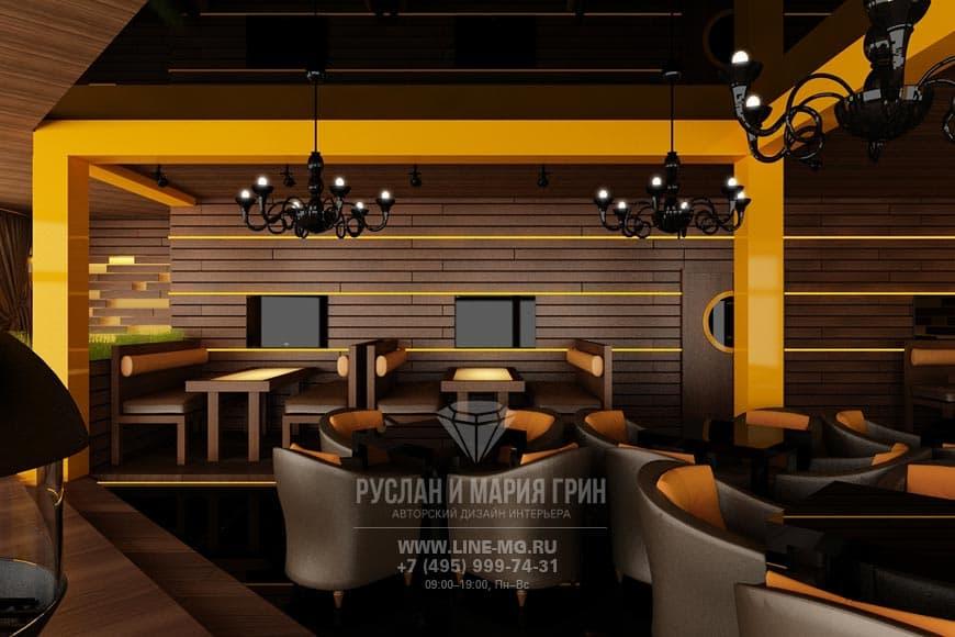 Стиль кантри в дизайн-проекте ресторана в Москве