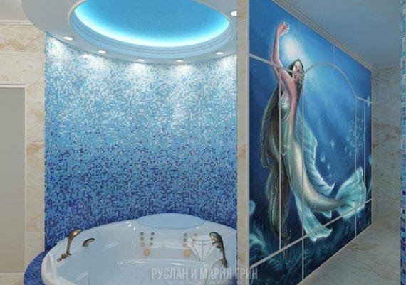 Дизайн санузла в доме