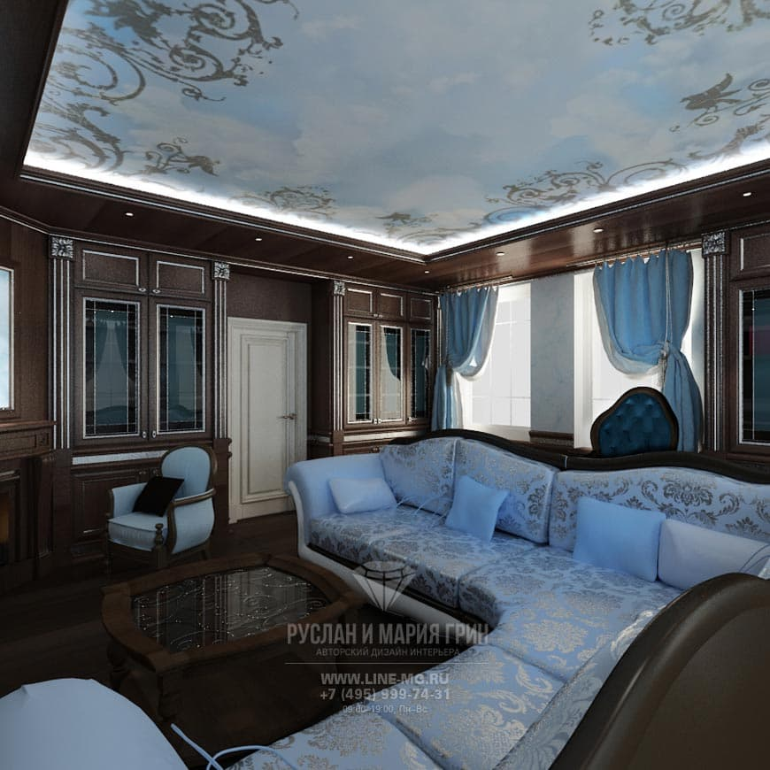 Дизайн спальни мансарда в современном стиле