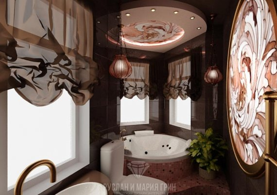 Дизайн интерьера столовой в доме