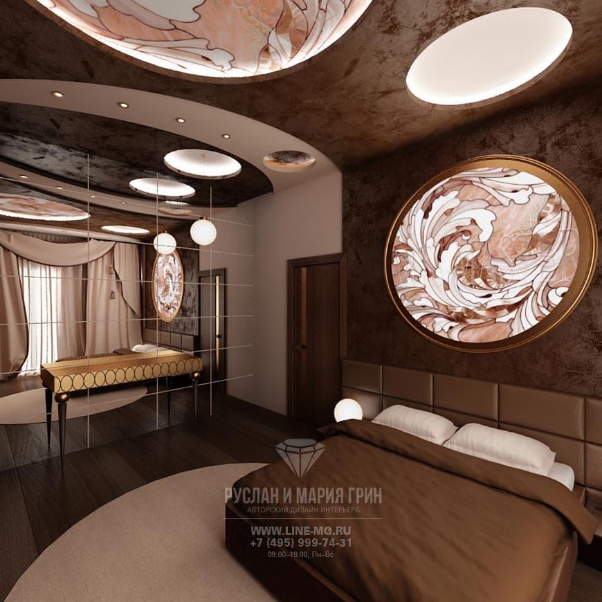 Интерьер спальни от частного дизайнера
