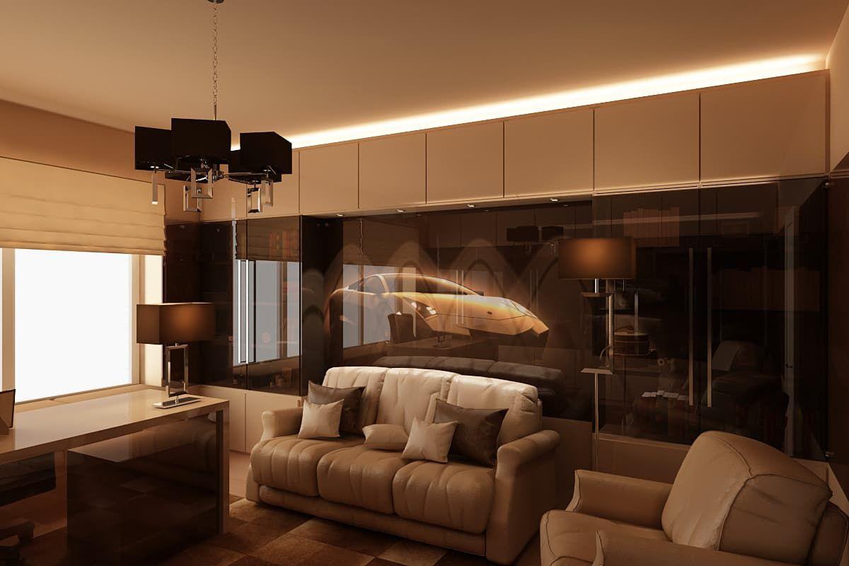 Фото интерьера кабинета в минималистическом стиле