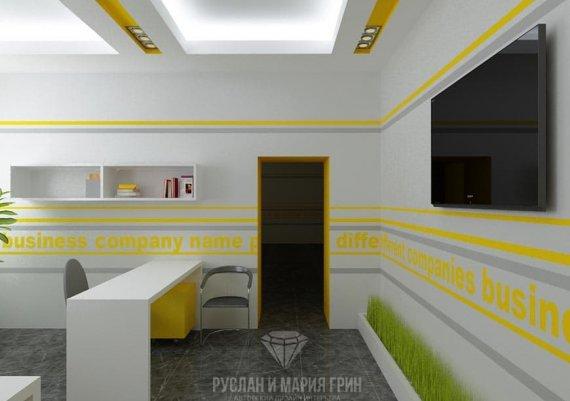 Фото интерьера офиса в современном стиле на м. Римская