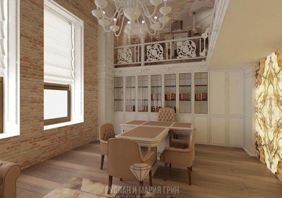 Фото интерьера офиса в современном стиле с естественным освещением