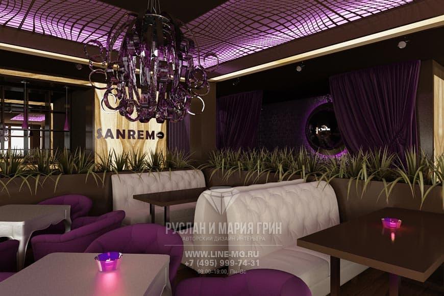 Дизайн-проект ресторана в Куркино