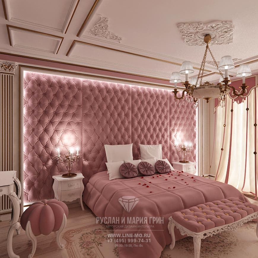 Bedroom Design In The Art Nouveau Style