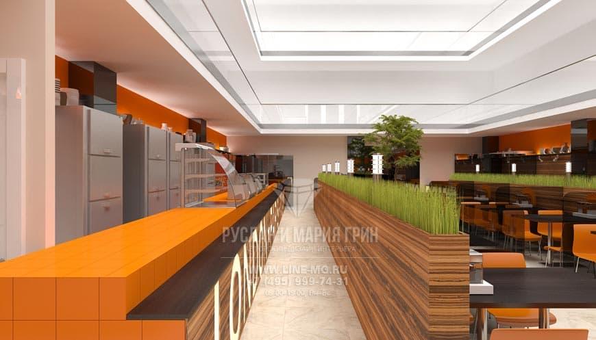 Дизайн столовой в стиле конструктивизм