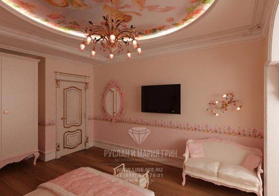 Дизайн интерьера детской в квартире