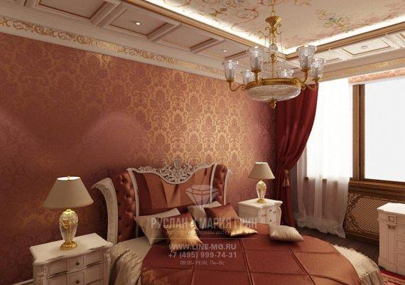 Интерьер спальни в квартире