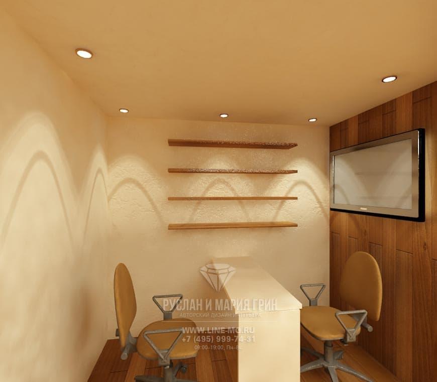 Дизайн спа-салона в современном стиле с элементами модерна и.