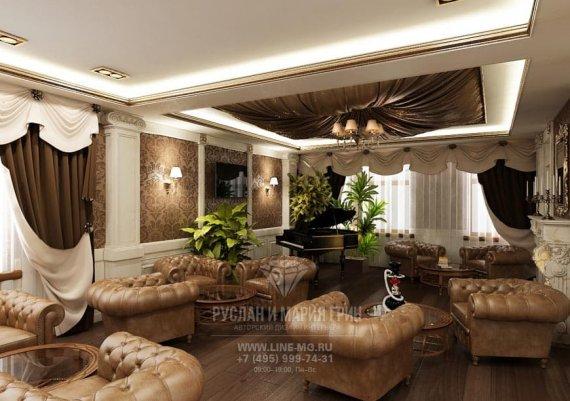 Фото классического интерьера мини-отеля «Рыбинский»