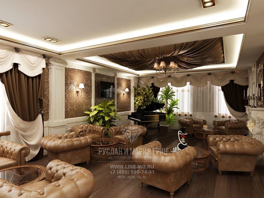 Фото дизайна интерьера мини-отеля «Рыбинский»