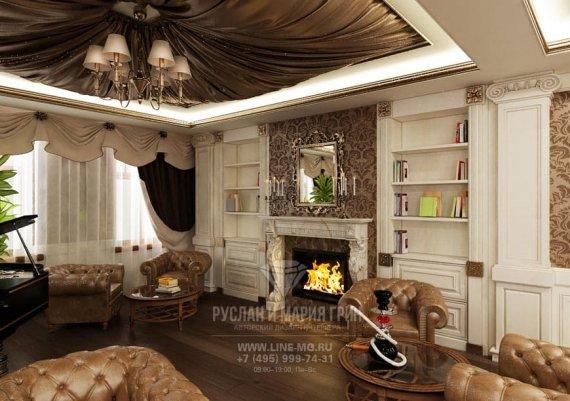 Фото классического интерьера гостиницы «Рыбинский»