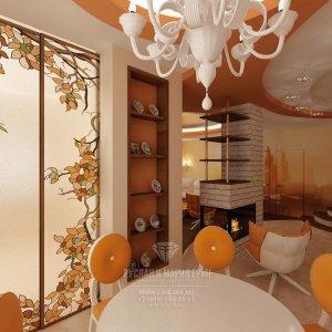 Фото дизайна интерьера гостиной: мебель