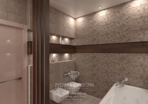 Фото интерьера санузла в экостиле