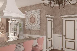 Apartment Design in a Classical Style
