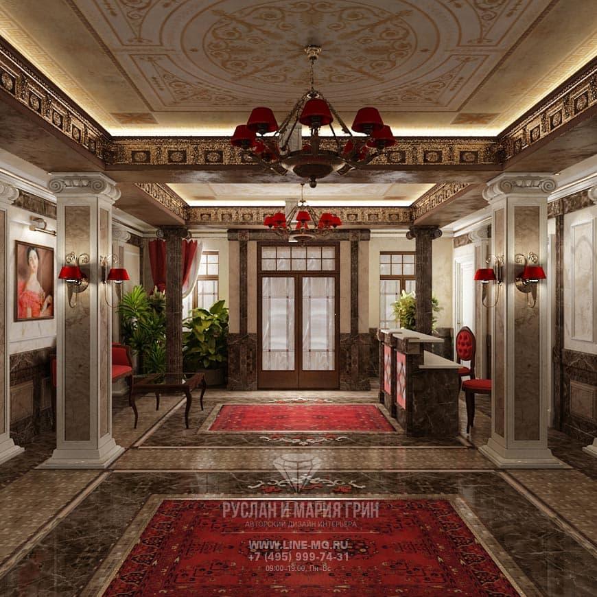 Дизайн мини-отеля