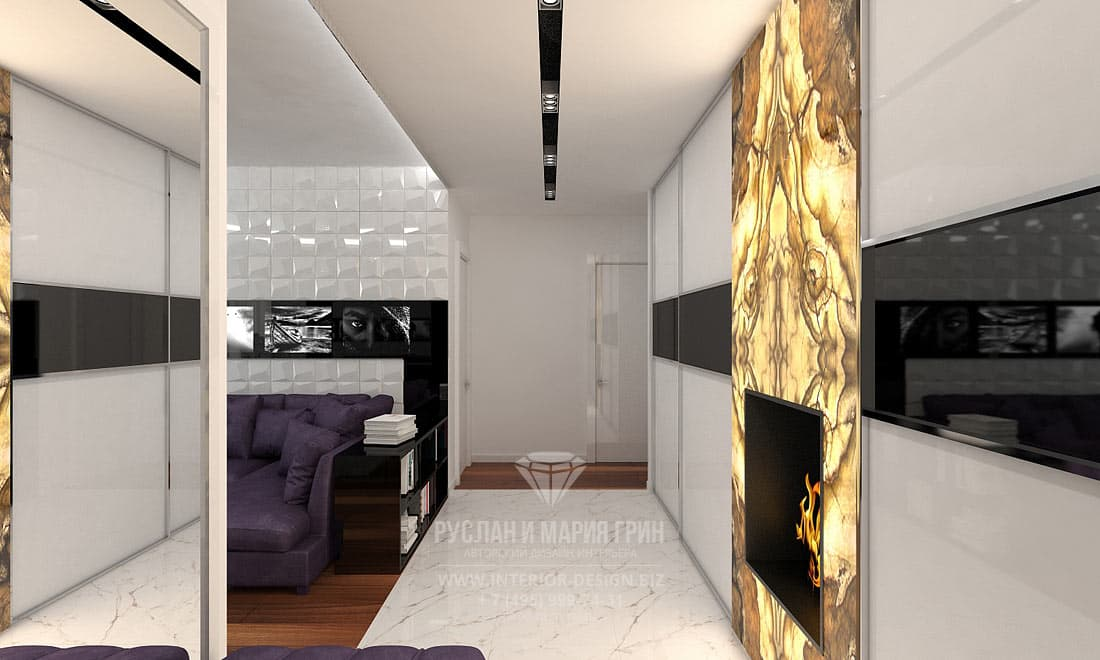 Modern apartment design with art deco elements design for Art deco interior design elements