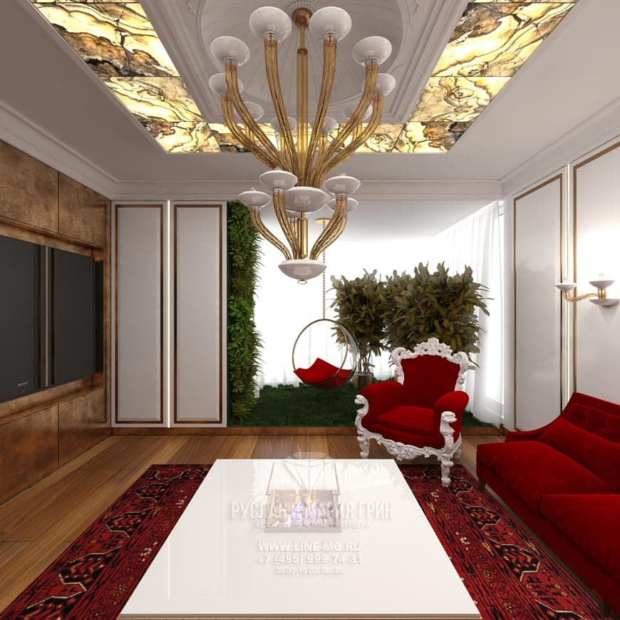 Art Nouveau Apartment Interior Design