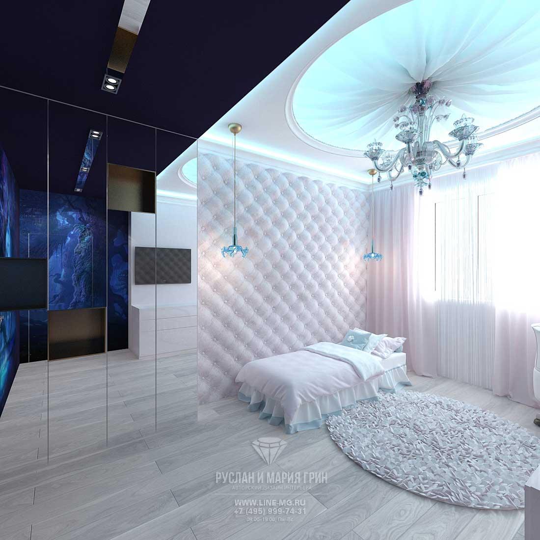 Дизайн детской комнаты для девочки. Современные идеи. Новинки 2015
