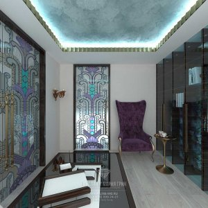 Дизайн кабинета в доме. Фото новинки 2015. Современные идеи интерьера