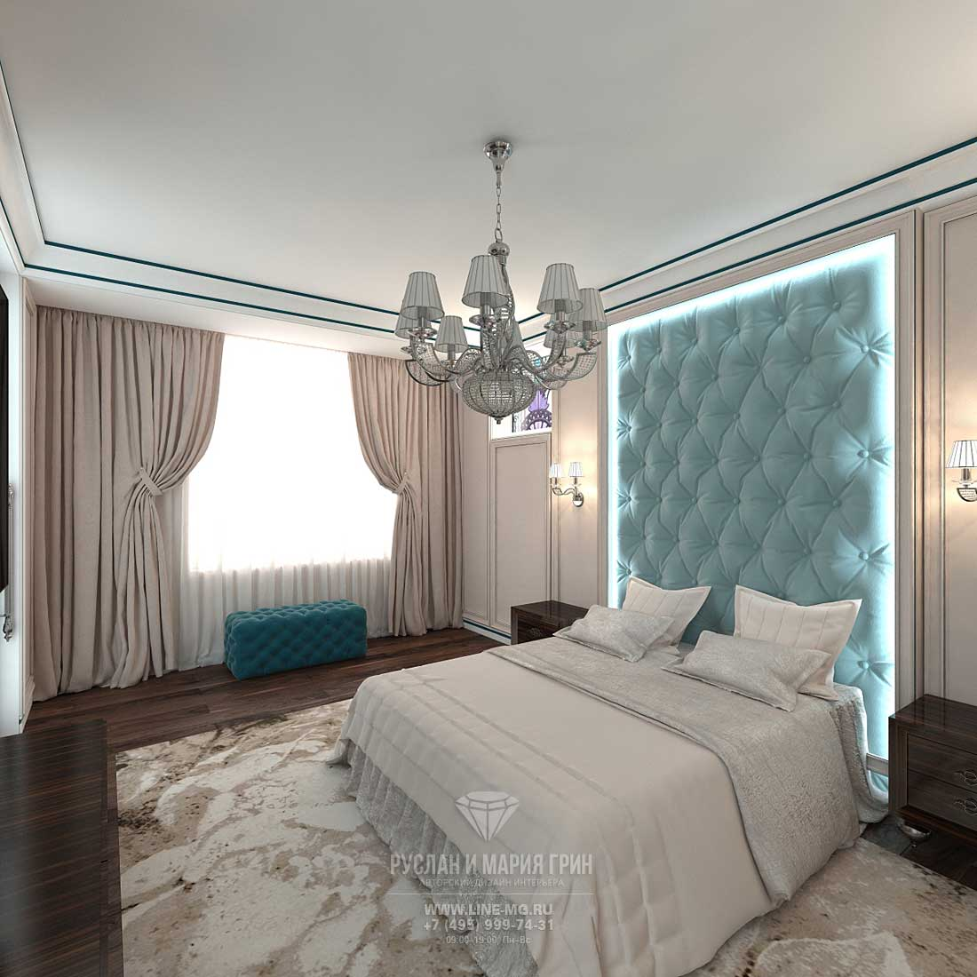 Design a bedroom in a private home. Photo NEW 2015