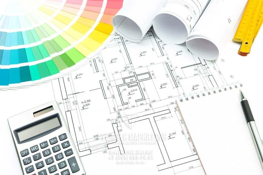 Цены на диайн интерьера и перепланировку квартир