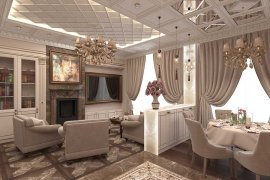"Apartment Design in a residential complex ""SKOLKOVO PARK"""